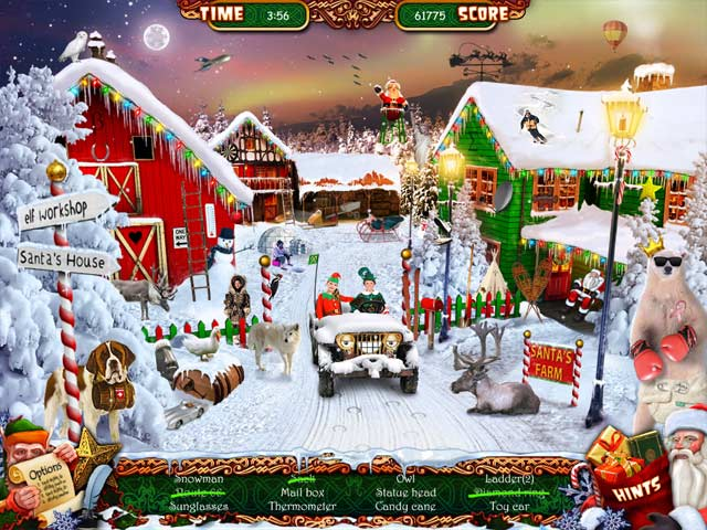 Christmas Wonderland 3 download free :: Play Hidden Object Games
