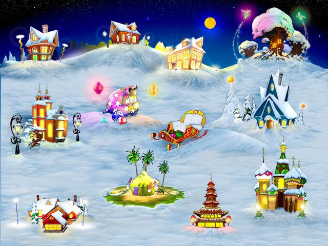 new free christmas games