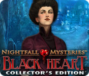 Nightfall Mysteries: Black Heart Collector`s Edition